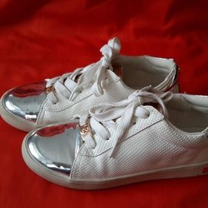 Michael Kors White Sneakers